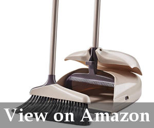 upright broom and dustpan set reviews