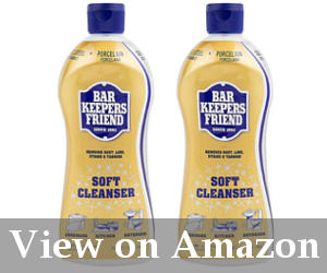Bar Keepers Friend Soft Cleanser Formula The Best Cleaner To Subsute A Shower Door Home Depot