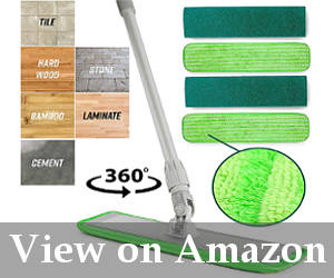 perfect mop for professional vinyl cleaning